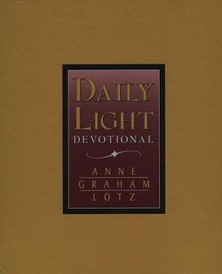 Daily Light Devotional, NKJV--bonded leather, burgundy   -     By: Anne Graham Lotz