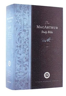 ESV MacArthur Study Bible, Personal Size, Hardcover  -