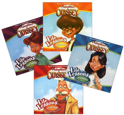 Adventures in Odyssey ® Life Lessons Volumes 1-4  -