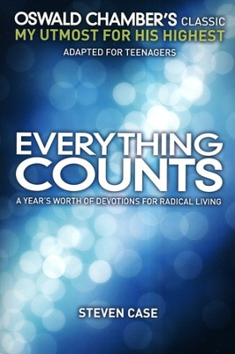 Everything Counts: A Year's Worth of Devotions on Radical Living  -     By: Steven Case