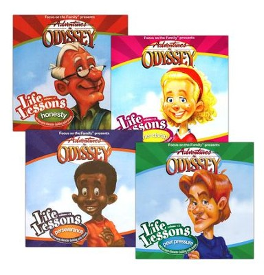 Adventures in Odyssey® Life Lessons Series: Set #5-8  -