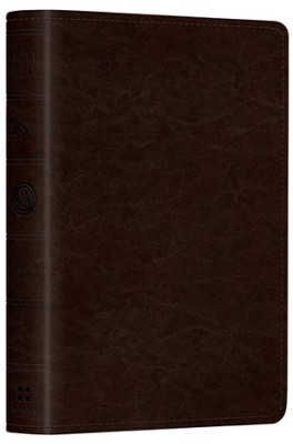 ESV Pocket New Testament with Psalms and Proverbs--soft leather-look, coffee  -