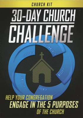30-Day Church Challenge Church Kit   -