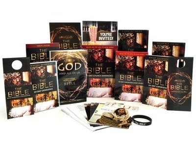 The Bible 30-Day Church Experience Church Kit   -