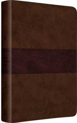 ESV Gospel Transformation Bible (TruTone, Chocolate/Plum, Trail Design)  -