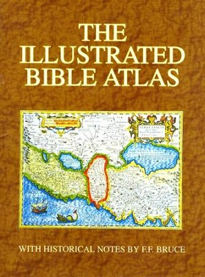 The Illustrated Bible Atlas   - Slightly Imperfect  -     By: F.F. Bruce