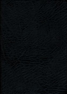 NKJV MacArthur Study Bible Large Print Black Bonded Thumb-Indexed   -     By: John MacArthur