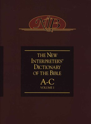 The New Interpreter's Dictionary of the Bible: Volume One: A-C  -     Edited By: Katharine Doob Sakenfeld     By: Edited by Katharine Doob Sakenfeld