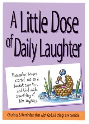 A Little Dose of Daily Laughter Book  -