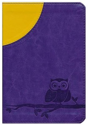 ESV Kid's Compact Bible (TruTone, Moonlight Owl), Imitation Leather  -