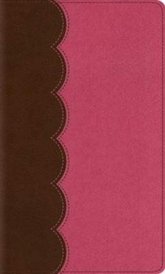 ESV Kid's Thinline Bible (TruTone, Chocolate/Bubble Gum), Imitation Leather  -