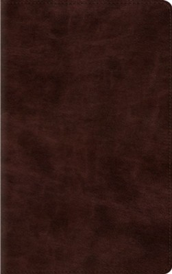ESV Thinline Bible (TruTone, Espresso), Imitation Leather  -