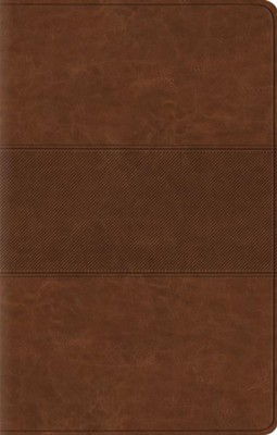 ESV Value Thinline Bible, TruTone, Chestnut with Trail Design  -