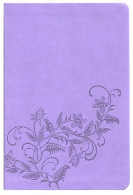 KJV Ultraslim Bible: Imitation Leather purple   -