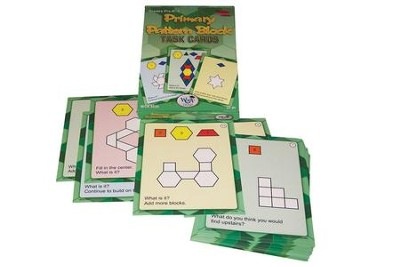 Primary Pattern Blocks Task Cards Set A: Grades K-2   -
