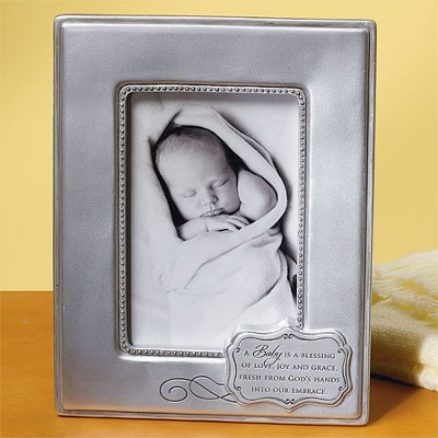 A Baby Is a Blessing Photo Frame  -