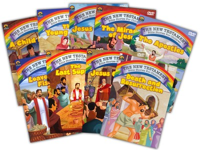 The New Testament Bible Stories for Children  -