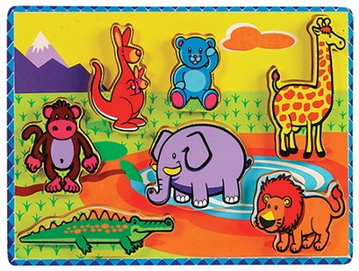 Chunky Jungle Animals Puzzle  -