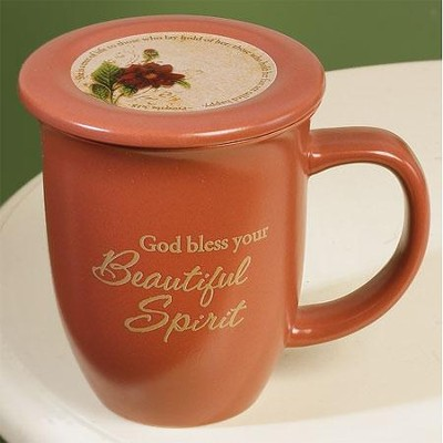Beautiful Spirit Mug with Coaster  -