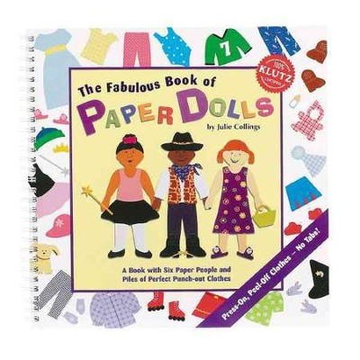 The Fabulous Book of Paper Dolls   -     By: Julie Collings