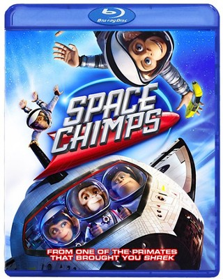 Space Chimps, Blu-ray   -