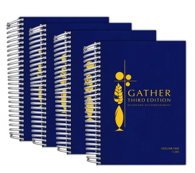 Gather 3rd Edition-Keyboard Spiral Hymnal   -