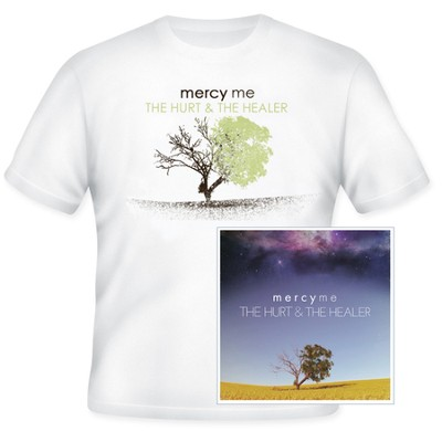 The Hurt & the Healer--CD and Free T-Shirt   -     By: MercyMe