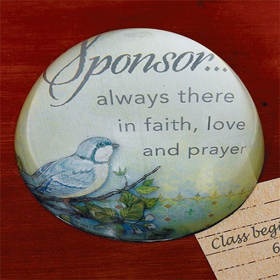 Confirmation Sponsor Paperweight  -