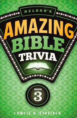 Nelson's Amazing Bible Trivia- Vol 3 - Slightly Imperfect  -
