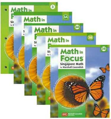 Math in Focus: The Singapore Approach Grade 3 Student Pack  -