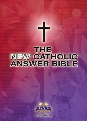 New Catholic Answer Bible NABRE, Largeprint   -