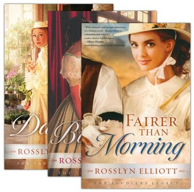 Saddler's Legacy Series, Volumes 1-3  -     By: Rosslyn Elliot
