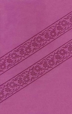 KJV Compact Ultraslim Bible, Leathersoft, Lotus Pink  -