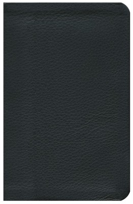 NKJV Jesus Calling Devotional Bible, Genuine Leather, Black  -