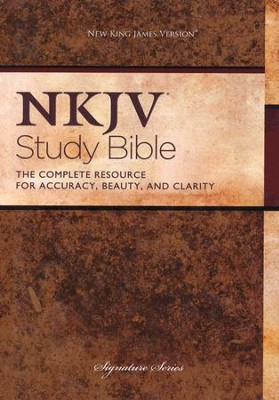 NKJV Study Bible, Second Edition, Hardcover - Slightly Imperfect  -