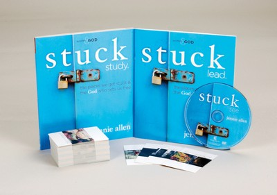 Stuck: A DVD-Based Study  -     By: Jennie Allen