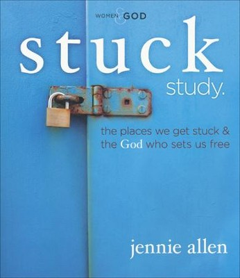 Stuck DVD-Based Study Participant's Guide  -     By: Jennie Allen