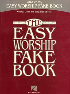 More of the Easy Worship Fake Book   -