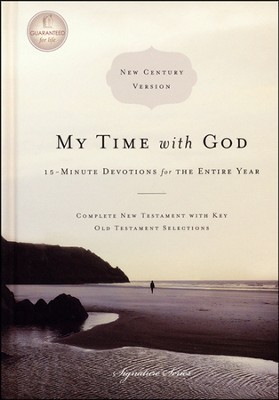 NCV My Time with God: 15-Minute Devotions for the Entire Year (slightly imperfect)  -