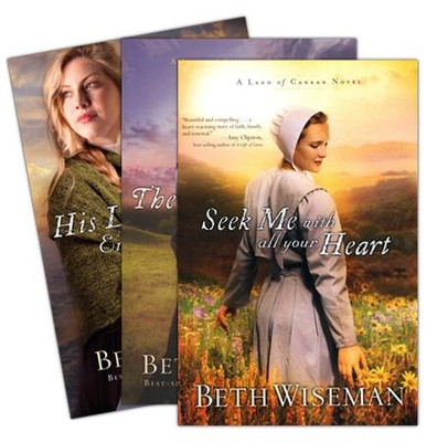 Land of Canaan Series, Vols.1-3   -     By: Beth Wiseman
