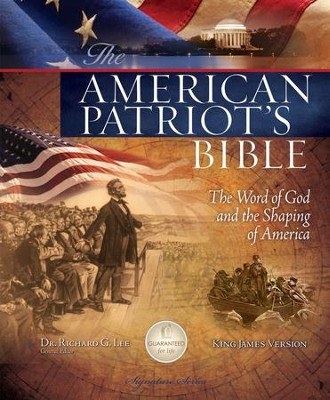 KJV American Patriot's Bible, Hardcover - Slightly Imperfect  -     Edited By: Richard Lee     By: Richard Lee(Ed.)