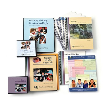 Teaching Writing & Student Writing Intensive, Level A--Deluxe Combo Pack  -