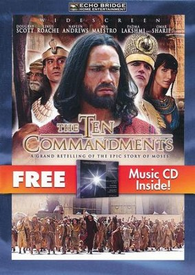 The Ten Commandments (with free Music CD)   -