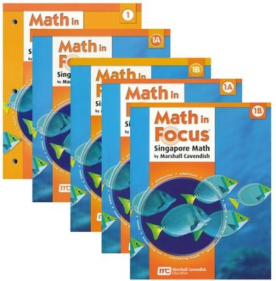 Math in Focus: The Singapore Approach Grade 1 Student Pack  -