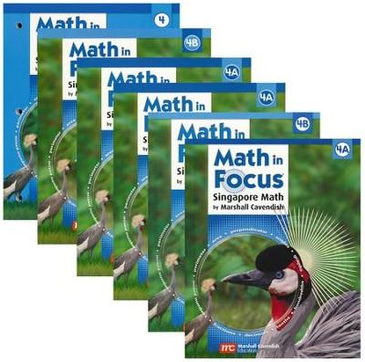 Math in Focus: The Singapore Approach Grade 4 Student Pack  -