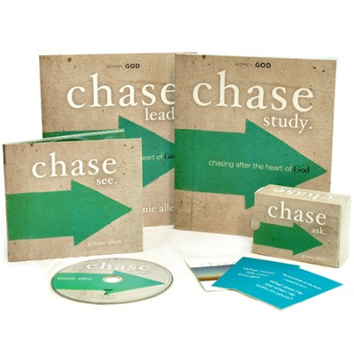 Chase DVD-Based Study Kit  -     By: Jennie Allen