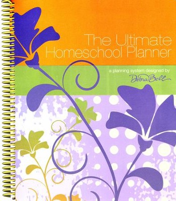 The Ultimate Homeschool Planner (Orange Cover)   -