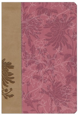 KJV Woman's Study Bible, Imitation Leather,  Pink/Cafe au lait  -