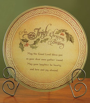 Irish Christmas Blessing Cutting Board  -