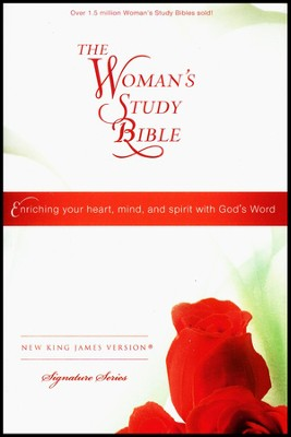 NKJV The Woman's Study Bible, Personal Size, Hardcover  -